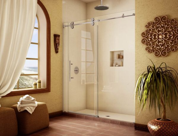Bồn tắm đứng - giải pháp nới rộng không gian cho phòng tắm 9