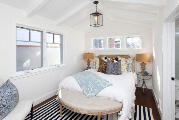 Nới rộng phòng ngủ nhỏ bằng những thủ thuật đơn giản (P.1) 2