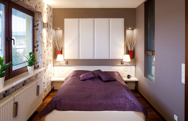 Nới rộng phòng ngủ nhỏ bằng những thủ thuật đơn giản (P.1) 3