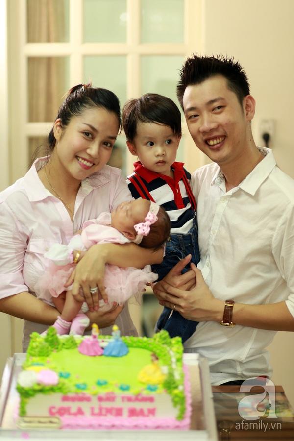 Độc quyền: Lễ rửa tội cho con gái Ốc Thanh Vân 8