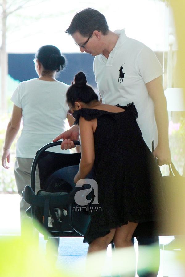 Độc quyền: Đoan Trang lần đầu xuất hiện sau khi sinh 3