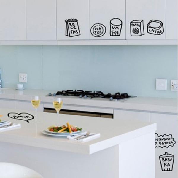 Trang trí nhà với những mẫu đề can dán tường tuyệt đẹp 8