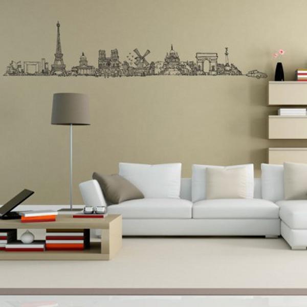 Trang trí nhà với những mẫu đề can dán tường tuyệt đẹp 14