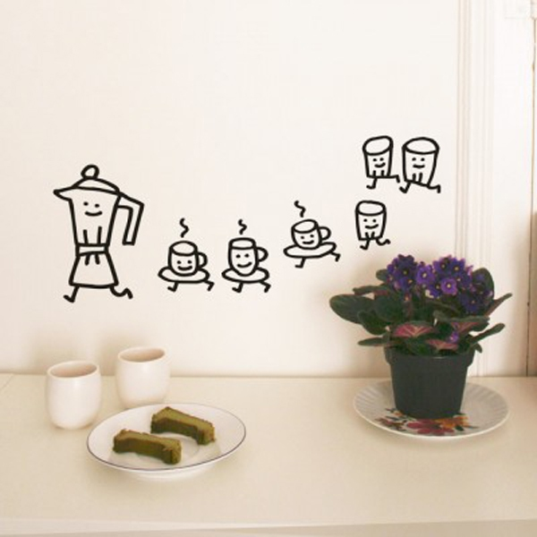 Trang trí nhà với những mẫu đề can dán tường tuyệt đẹp 10