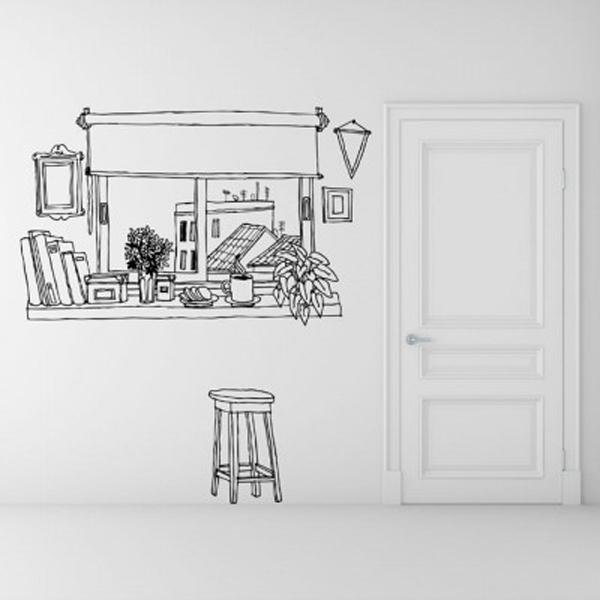 Trang trí nhà với những mẫu đề can dán tường tuyệt đẹp 3