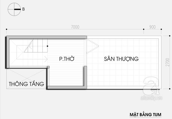 """Thiết kế nhà 19m² """"hạn chế đủ đường"""" cho gia đình 4 người 4"""