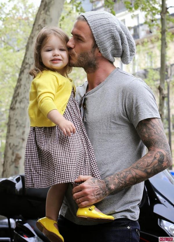 """Những bộ cánh thời trang """"đốn tim"""" phái đẹp của David Beckham  15"""