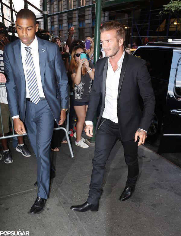 """Những bộ cánh thời trang """"đốn tim"""" phái đẹp của David Beckham  8"""
