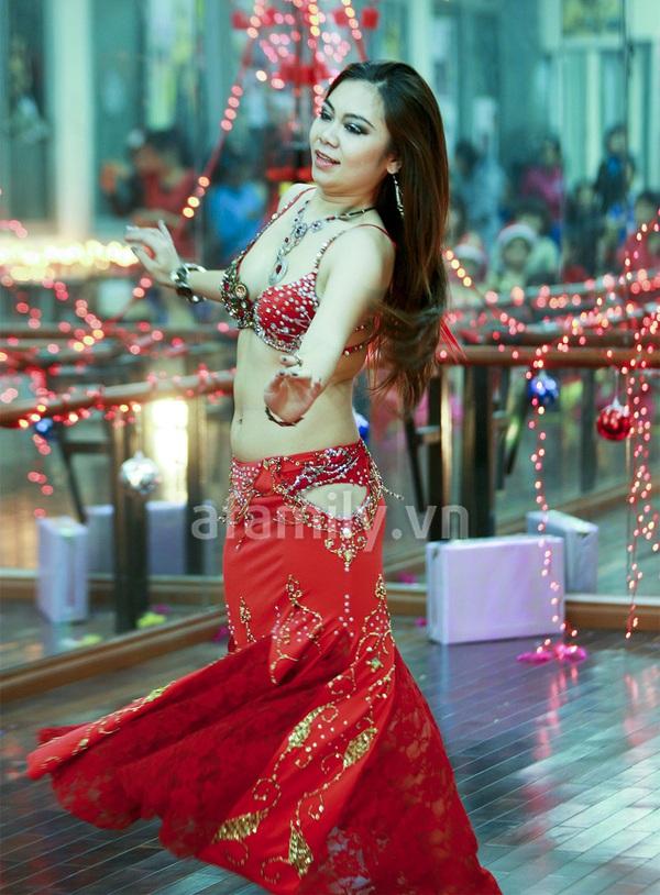 """Vũ công belly dance Đỗ Hồng Hạnh: """"Không sợ tuổi 30"""" 11"""