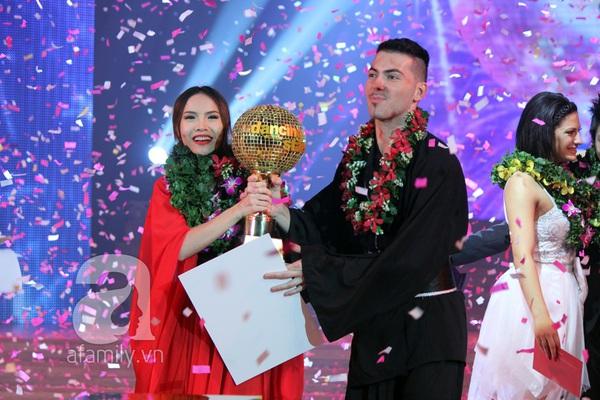 Yến Trang đăng quang Bước nhảy Hoàn Vũ 2013 2