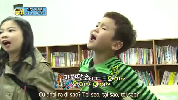 """""""Bố ơi mình đi đâu thế"""" tập 39: Hoo khoe tài ca hát 5"""
