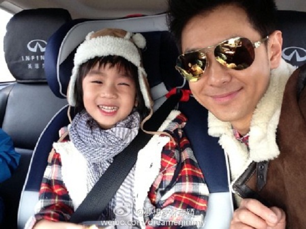 Những khoảnh khắc cực đáng yêu của con trai Lâm Chí Dĩnh 4