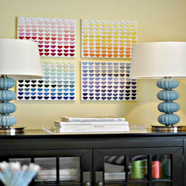 20 ý tưởng có tự trang trí tường nhà dễ thực hiện (P1) 9