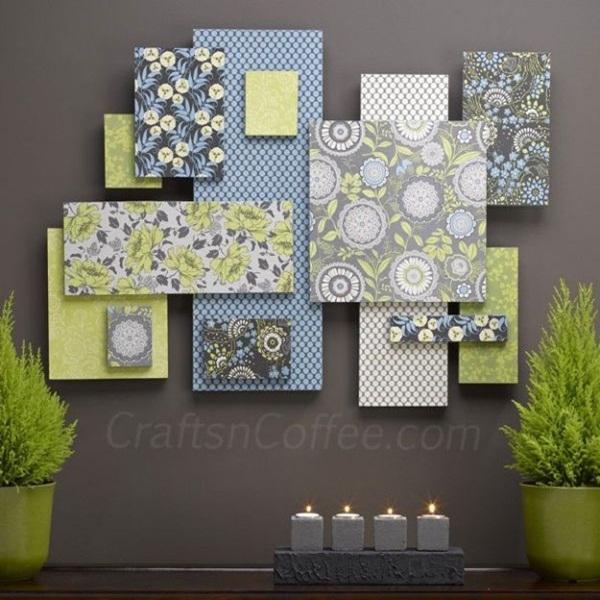 20 ý tưởng có tự trang trí tường nhà dễ thực hiện (P1) 10