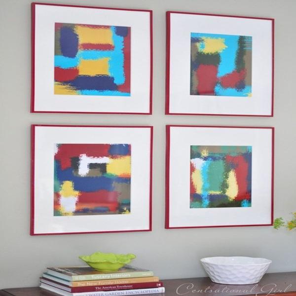 20 ý tưởng có tự trang trí tường nhà dễ thực hiện (P2)  12