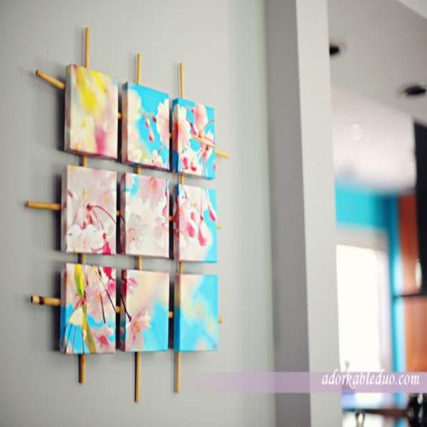 20 ý tưởng có tự trang trí tường nhà dễ thực hiện (P1) 3