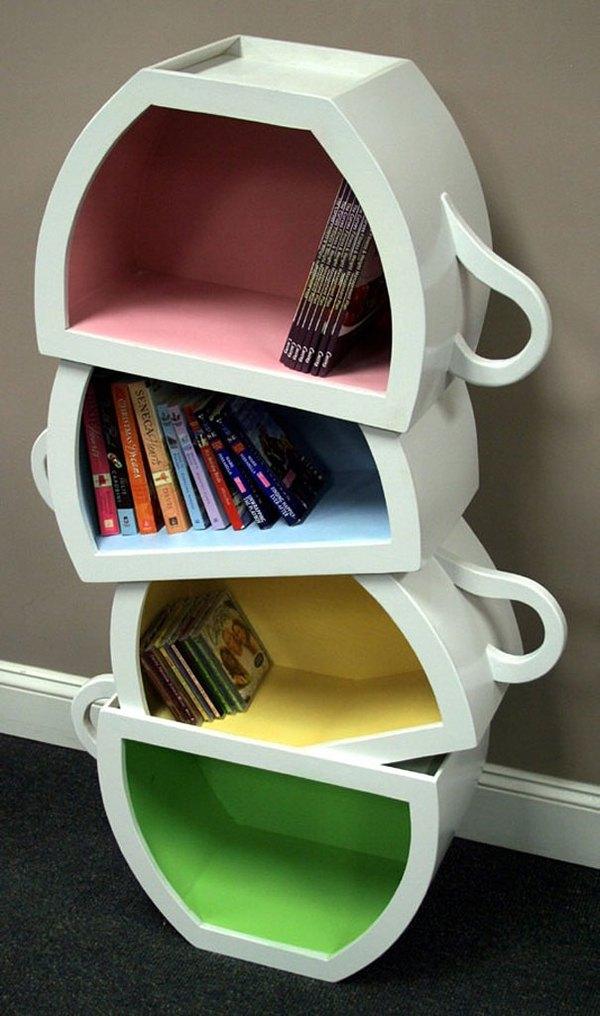 10 mẫu thiết kế kệ sách độc đáo và ấn tượng cho nhà bạn 4