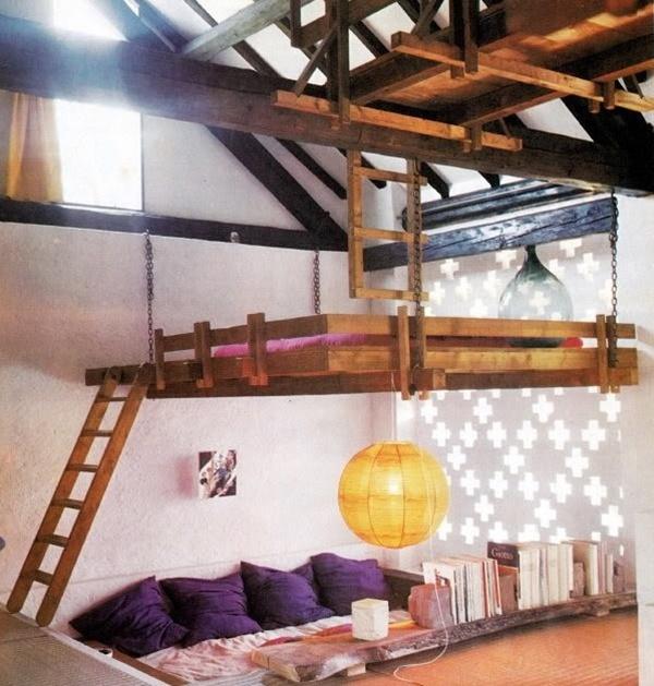 Những thiết kế giường ngủ độc và tiết kiệm diện tích 5