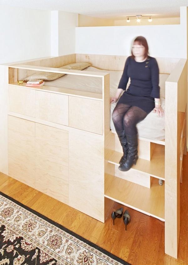 Những thiết kế giường ngủ độc và tiết kiệm diện tích 7