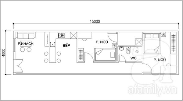 Tư vấn thiết kế cải tạo không gian thông thoáng cho nhà cấp 4 1