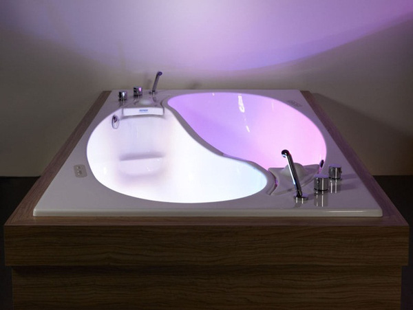 Bồn tắm uyên ương – món nội thất nhà tắm lãng mạn cho cặp đôi 3