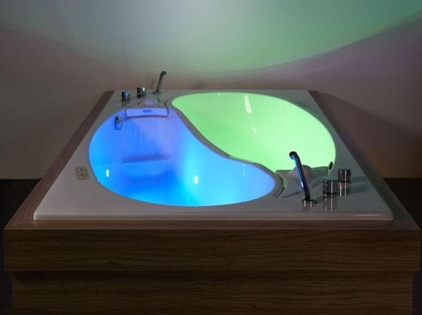 Bồn tắm uyên ương – món nội thất nhà tắm lãng mạn cho cặp đôi 5