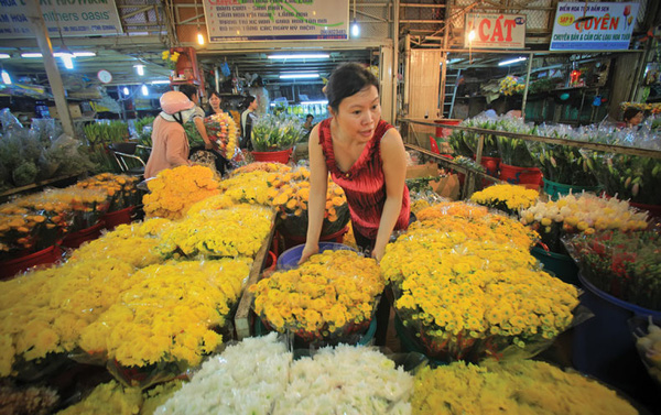 """Những """"thiên đường hoa"""" bậc nhất Việt Nam 16"""