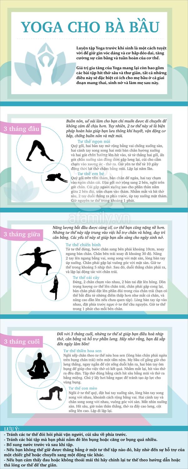 Tập yoga khi mang thai 1