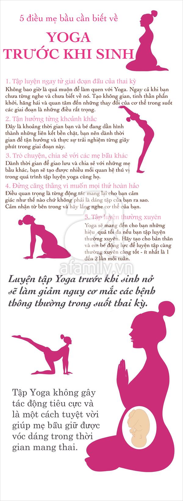 Tập yoga khi mang thai 2