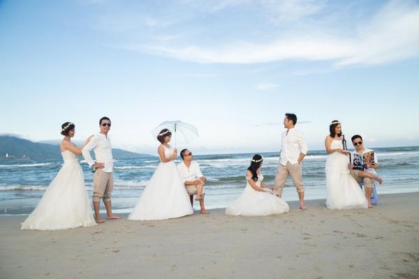ảnh cưới tập thể