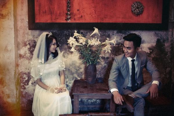 ảnh cưới xưa