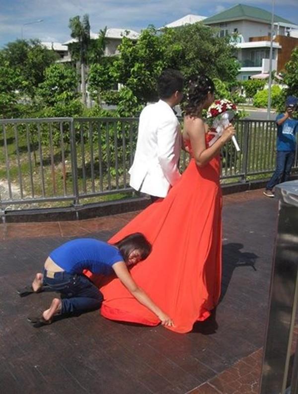 hậu trường ảnh cưới