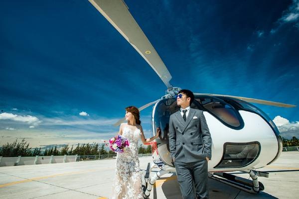 ảnh cưới phi công