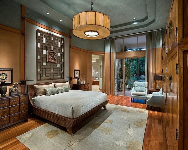 Thiết kế phòng ngủ theo phong cách Á Đông 1