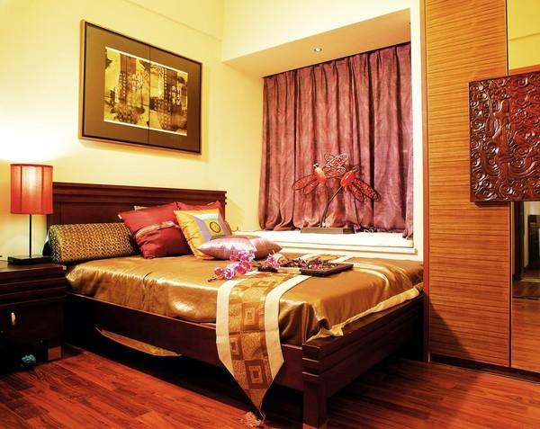 Thiết kế phòng ngủ theo phong cách Á Đông 5