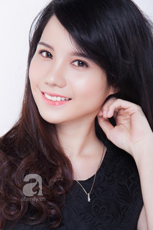 Che khuyết điểm mặt to chỉ với lớp trang điểm nhẹ và kiểu tóc 2