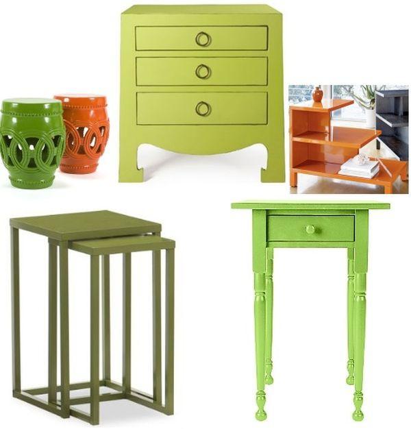 Làm đẹp và sống động không gian nhờ chiếc bàn màu sắc 4