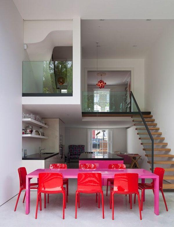 Làm đẹp và sống động không gian nhờ chiếc bàn màu sắc 8
