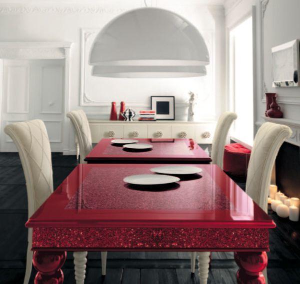 Làm đẹp và sống động không gian nhờ chiếc bàn màu sắc 9