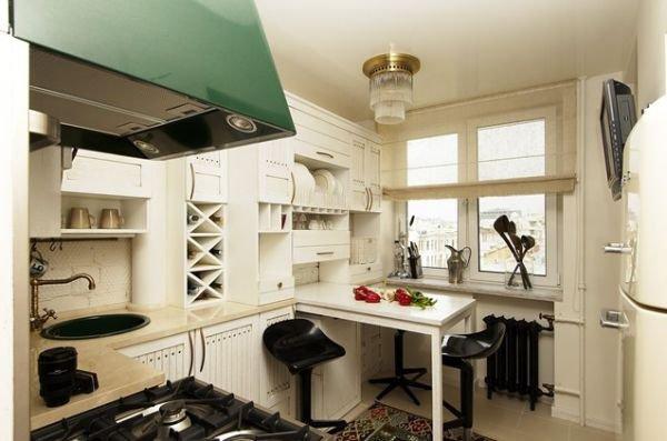 Bàn kéo – giải pháp tuyệt vời cho nhà bếp nhỏ 5