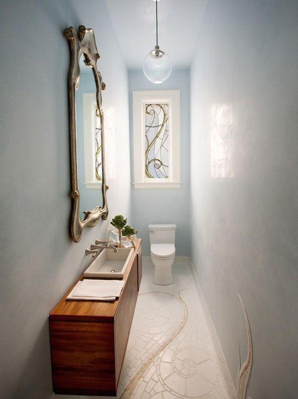 4 lưu ý bài trí  giúp phòng tắm hẹp ấn tượng hơn 3