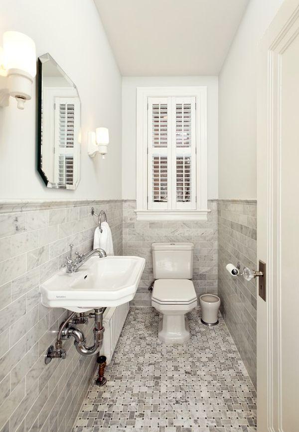 4 lưu ý bài trí  giúp phòng tắm hẹp ấn tượng hơn 1