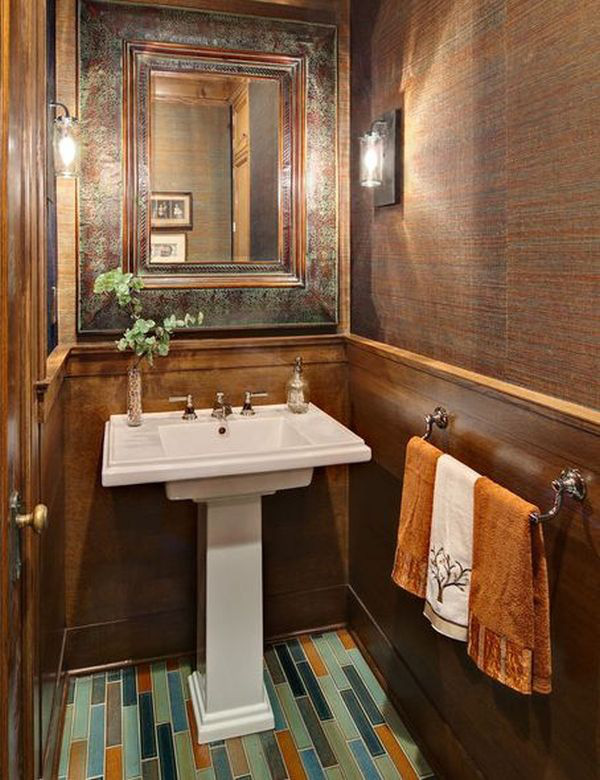 4 lưu ý bài trí  giúp phòng tắm hẹp ấn tượng hơn 8