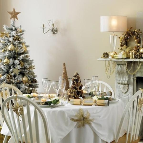 de phong an dam dac mau giang sinh Bí quyết trang trí để phòng ăn đậm đặc màu Giáng sinh