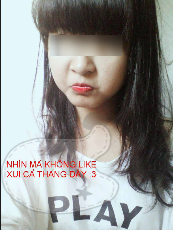 Lôi ảnh gái xinh và  hù dọa để câu like trên Facebook 3