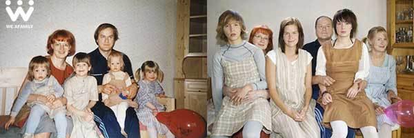 WE ARE AFAMILY – Cuộc thi ảnh gia đình xưa và nay cực hay 6
