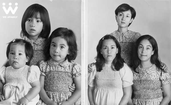 WE ARE AFAMILY – Cuộc thi ảnh gia đình xưa và nay cực hay 7