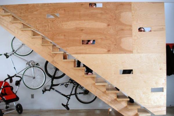 Độc đáo muôn kiểu trang trí nhà bằng... xe đạp 3