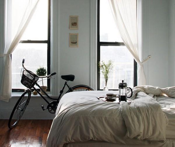 Độc đáo muôn kiểu trang trí nhà bằng... xe đạp 5