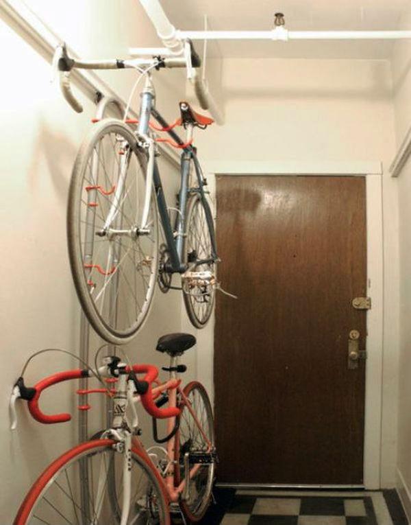 Độc đáo muôn kiểu trang trí nhà bằng... xe đạp 7